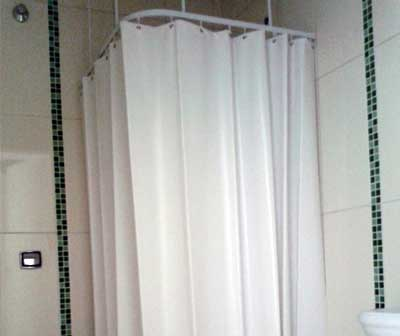 Curtains for hospital bathroom