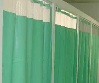Miscellaneous curtains for X-Ray Rooms and Changing Rooms