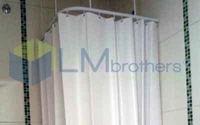Cortina para Banheiro Hospitalar - LMbrothers