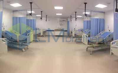 Cortina Divisória de Leito Hospitalar - LMbrothers